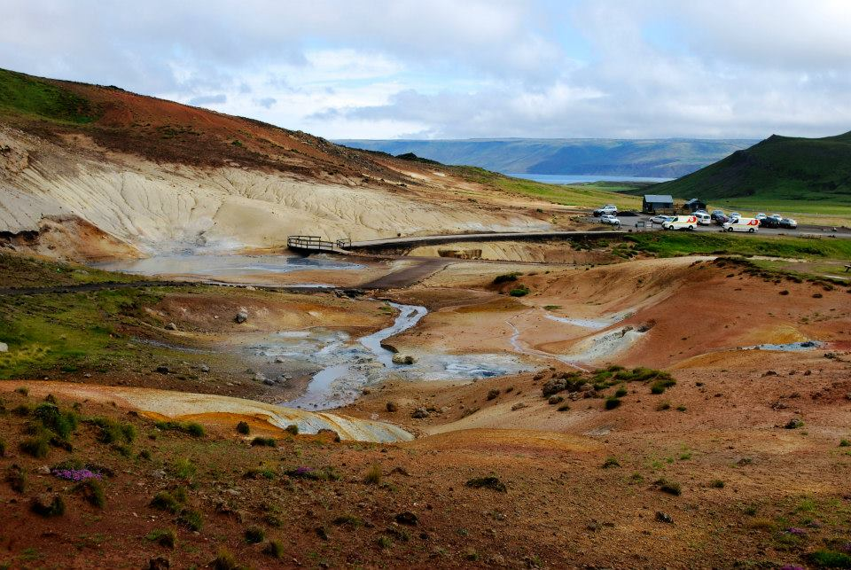 Solfatare in Islanda