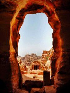 La vista della Tomba del Giardino, una location originale