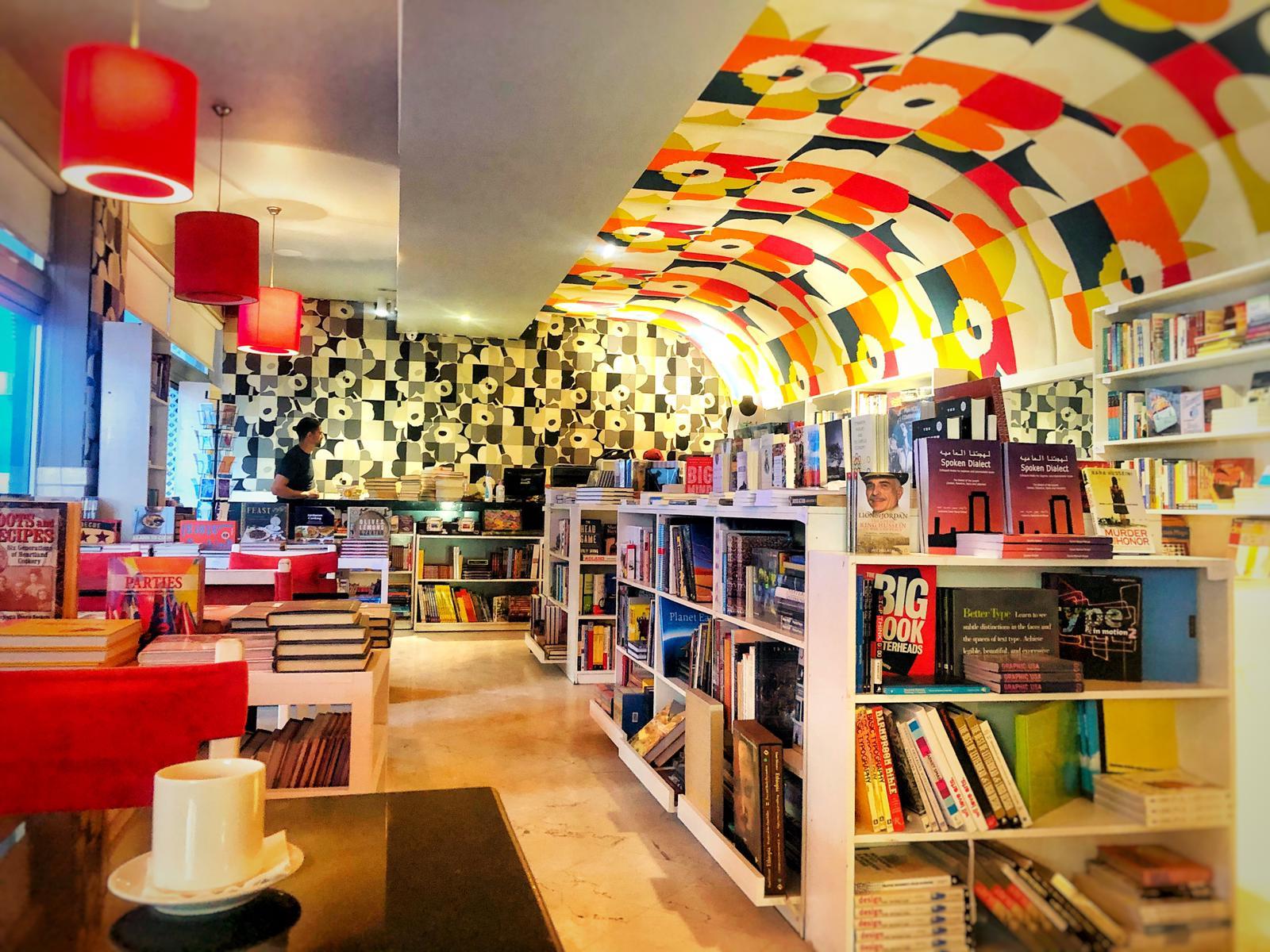 Book at Café